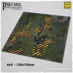 PWork Wargame release Operation Alpha Gaming Mat