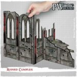 PWork Wargames Release Ruined Complex 28mm Scenery Set