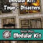 Heroic Maps Releases Modular Kit: Town-Disasters