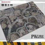 PWork Wargames Releases Classic Darkburg Gaming Mat