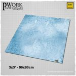 Ice Planet Gaming Mat from PWork Wargames Available Now