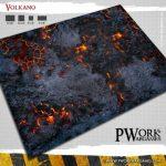 Volkano! Fantasy Gaming Mat from Pwork Wargames!
