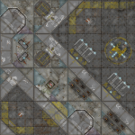 Industrial Terminus Segments Modular Mat Now Available from Micro Art Studio