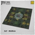 PWork Wargames Release Dark London Fantasy Gaming Mat