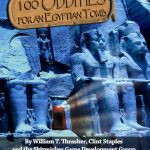 Skirmisher Publishing Releases 100 Oddities for an Egyptian Tomb