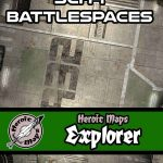Explorer: Sci-Fi Battlespaces Battlemaps Available from Heroic Maps