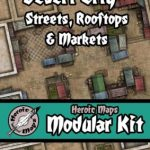 Heroic Maps Releases Desert City - Streets, Rooftops and Markets