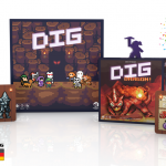 DIG 2nd Edition and DIG: Dragon! on Kickstarter for One More Week!