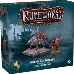 Baron Zachareth of Carthridge Hero Expansion Available to Pre Order for Runewars