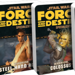 Warrior Specialization and Signature Abilities Decks Available for Star Wars: Force & Destiny