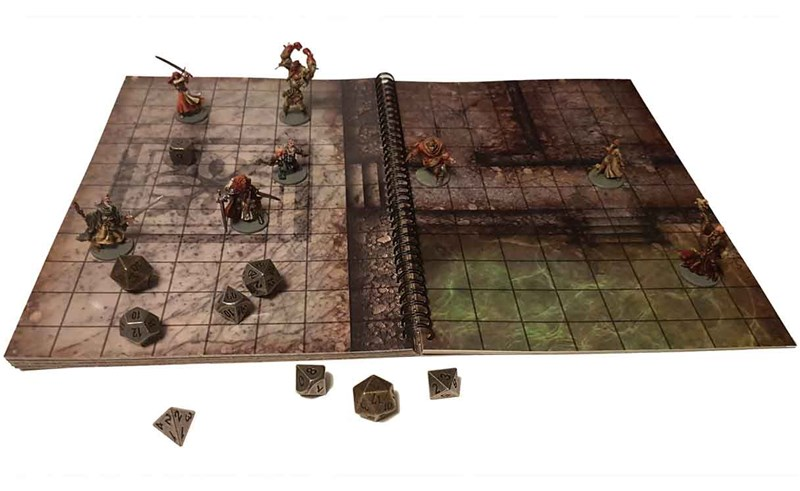 Loke Battlemats Releases the Big Book of Battlemats