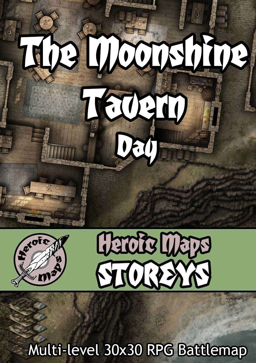 Heroic Maps Release the Moonshine Tavern Day and Moonshine Tavern Night