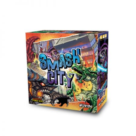 WizKids Announces Smash City Dice Game