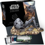 Fantasy Flight Games Releases the Downed AT-ST Battlefield Expansion for Star Wars: Legion