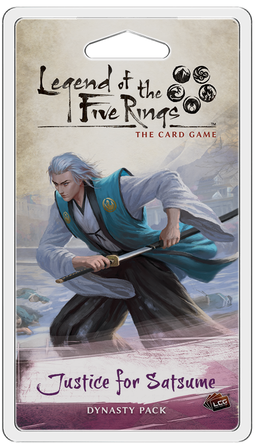 Justice for Satsume comes to Legend of the Five Rings TCG