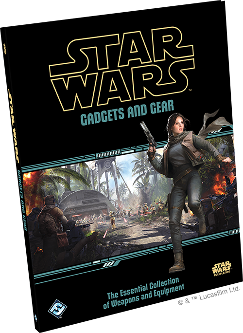 Fantasy Flight Announces Gadgets and Gear Sourcebook for Star Wars Roleplaying