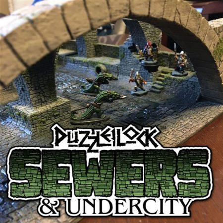 PuzzleLock Sewers & Undercity Terrain Available Now