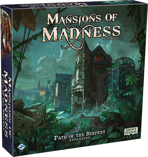 Fantasy Flight Games Announces Path of the Serpent for Mansions of Madness