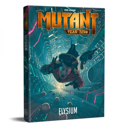 Mutant: Elysium RPG Coming August 1st From Free League Publishing
