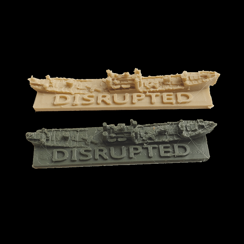 Allied Disrupted Convoy Markers